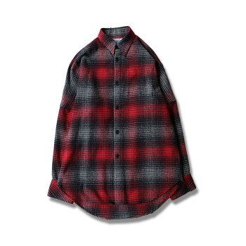 <img class='new_mark_img1' src='//img.shop-pro.jp/img/new/icons47.gif' style='border:none;display:inline;margin:0px;padding:0px;width:auto;' />DAIRIKU/ Over Sized Flannel Check Shirt