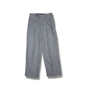 <img class='new_mark_img1' src='//img.shop-pro.jp/img/new/icons47.gif' style='border:none;display:inline;margin:0px;padding:0px;width:auto;' />JieDa / POCKET GINGHAM SLACKS