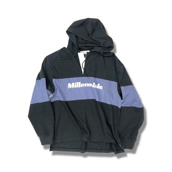 "<img class='new_mark_img1' src='//img.shop-pro.jp/img/new/icons47.gif' style='border:none;display:inline;margin:0px;padding:0px;width:auto;' />DAIRIKU/ ""Millennials"" Rugby Hoodie"