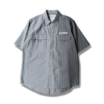 <img class='new_mark_img1' src='//img.shop-pro.jp/img/new/icons14.gif' style='border:none;display:inline;margin:0px;padding:0px;width:auto;' />DAIRIKU/ Half-Sleeve Fisherman Shirt