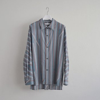 <img class='new_mark_img1' src='//img.shop-pro.jp/img/new/icons14.gif' style='border:none;display:inline;margin:0px;padding:0px;width:auto;' />ETHOSENS/ Twist stripe shirt