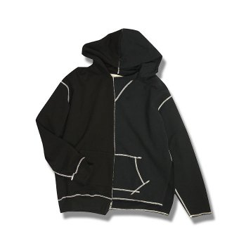 <img class='new_mark_img1' src='https://img.shop-pro.jp/img/new/icons59.gif' style='border:none;display:inline;margin:0px;padding:0px;width:auto;' />JieDa/ ASYMMETRY HOODIE
