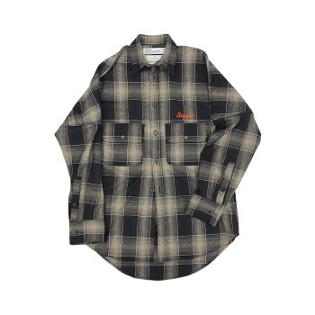 "<img class='new_mark_img1' src='https://img.shop-pro.jp/img/new/icons14.gif' style='border:none;display:inline;margin:0px;padding:0px;width:auto;' />DAIRIKU/ ""Biggie"" Wool Shirt"