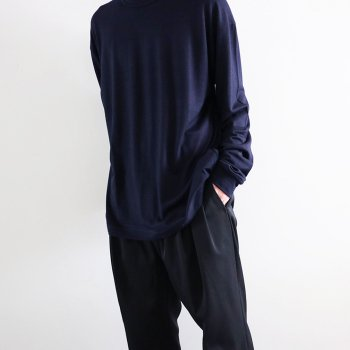 <img class='new_mark_img1' src='https://img.shop-pro.jp/img/new/icons14.gif' style='border:none;display:inline;margin:0px;padding:0px;width:auto;' />YOKE/ WASHABLE WOOL INSIDE OUT TEE LONG SLEEVES