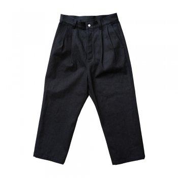 <img class='new_mark_img1' src='https://img.shop-pro.jp/img/new/icons14.gif' style='border:none;display:inline;margin:0px;padding:0px;width:auto;' />Blanc YM/ wool denim pants