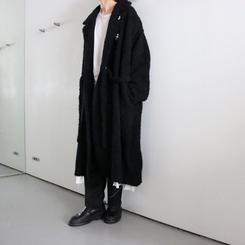 <img class='new_mark_img1' src='https://img.shop-pro.jp/img/new/icons14.gif' style='border:none;display:inline;margin:0px;padding:0px;width:auto;' />FACCIES/ LONG HAIR KNIT COAT