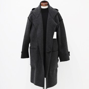 <img class='new_mark_img1' src='https://img.shop-pro.jp/img/new/icons14.gif' style='border:none;display:inline;margin:0px;padding:0px;width:auto;' />YOKE/ WOOL CASHMERE MILANO RIB HOODED COAT
