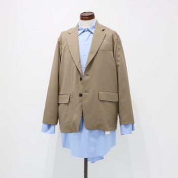<img class='new_mark_img1' src='https://img.shop-pro.jp/img/new/icons14.gif' style='border:none;display:inline;margin:0px;padding:0px;width:auto;' />ATHA/ DRY TOUCH NOTCHED LAPEL BOX JACKET
