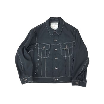 "<img class='new_mark_img1' src='https://img.shop-pro.jp/img/new/icons14.gif' style='border:none;display:inline;margin:0px;padding:0px;width:auto;' />DAIRIKU/ ""REGULAR"" Polyester Jacket"