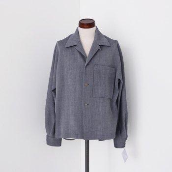 <img class='new_mark_img1' src='https://img.shop-pro.jp/img/new/icons14.gif' style='border:none;display:inline;margin:0px;padding:0px;width:auto;' />ETHOSENS/ Honeycomb cloth shirt