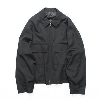 <img class='new_mark_img1' src='https://img.shop-pro.jp/img/new/icons14.gif' style='border:none;display:inline;margin:0px;padding:0px;width:auto;' />stein/ OVER SLEEVE ZIP JACKET