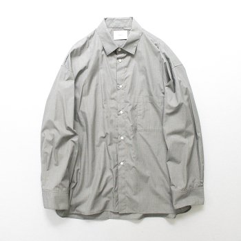 <img class='new_mark_img1' src='https://img.shop-pro.jp/img/new/icons14.gif' style='border:none;display:inline;margin:0px;padding:0px;width:auto;' />stein/ OVERSIZED DOWN PATTERN SHIRT