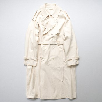 <img class='new_mark_img1' src='https://img.shop-pro.jp/img/new/icons14.gif' style='border:none;display:inline;margin:0px;padding:0px;width:auto;' />stein(-)/ DOUBLE SHADE TRENCH COAT