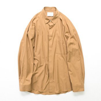 <img class='new_mark_img1' src='https://img.shop-pro.jp/img/new/icons14.gif' style='border:none;display:inline;margin:0px;padding:0px;width:auto;' />stein/ FLY FRONT SLEEVE OVERSIZED SHIRT