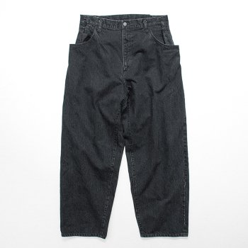 <img class='new_mark_img1' src='https://img.shop-pro.jp/img/new/icons14.gif' style='border:none;display:inline;margin:0px;padding:0px;width:auto;' />stein/ EX WIDE HOOKED DENIM JEANS