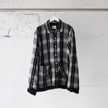 <img class='new_mark_img1' src='https://img.shop-pro.jp/img/new/icons14.gif' style='border:none;display:inline;margin:0px;padding:0px;width:auto;' />ATHA/ SEE-THROUGH CHECK KONA JACKET