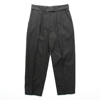 <img class='new_mark_img1' src='https://img.shop-pro.jp/img/new/icons14.gif' style='border:none;display:inline;margin:0px;padding:0px;width:auto;' />stein/ DOUBLE WAIST WIDE TROUSERS