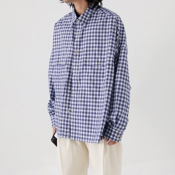 <img class='new_mark_img1' src='https://img.shop-pro.jp/img/new/icons20.gif' style='border:none;display:inline;margin:0px;padding:0px;width:auto;' />[40%OFF!!] wonderland / Check shirts