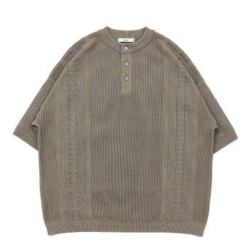 <img class='new_mark_img1' src='https://img.shop-pro.jp/img/new/icons14.gif' style='border:none;display:inline;margin:0px;padding:0px;width:auto;' />YASHIKI / Asasuzu Henley Knit