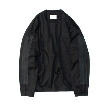 <img class='new_mark_img1' src='https://img.shop-pro.jp/img/new/icons14.gif' style='border:none;display:inline;margin:0px;padding:0px;width:auto;' />stein/ OVERSIZED LONG SLEEVE TEE_B