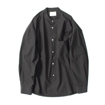 <img class='new_mark_img1' src='https://img.shop-pro.jp/img/new/icons14.gif' style='border:none;display:inline;margin:0px;padding:0px;width:auto;' />stein/ OVERSIZED BAND COLLAR SHIRT