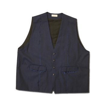<img class='new_mark_img1' src='https://img.shop-pro.jp/img/new/icons14.gif' style='border:none;display:inline;margin:0px;padding:0px;width:auto;' />JieDa / GABARDINE OVER VEST