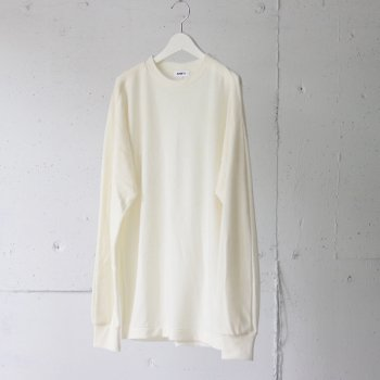 <img class='new_mark_img1' src='https://img.shop-pro.jp/img/new/icons14.gif' style='border:none;display:inline;margin:0px;padding:0px;width:auto;' />AUBETT / wool jersey tuck sleeve oversized t-shirts