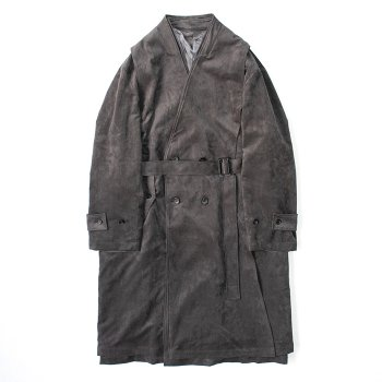 <img class='new_mark_img1' src='https://img.shop-pro.jp/img/new/icons14.gif' style='border:none;display:inline;margin:0px;padding:0px;width:auto;' />stein(C)/ OVERSIZED LINEAR NO COLLAR COAT