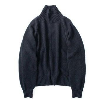 <img class='new_mark_img1' src='https://img.shop-pro.jp/img/new/icons14.gif' style='border:none;display:inline;margin:0px;padding:0px;width:auto;' />stein/ EX FINE LAMBS LOOSE HIGH NECK KNIT LS