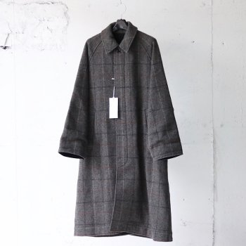<img class='new_mark_img1' src='https://img.shop-pro.jp/img/new/icons14.gif' style='border:none;display:inline;margin:0px;padding:0px;width:auto;' />YOKE/ REVERSIBLE KNIT BAL COLLAR COAT