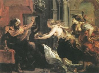 tereus confronted with the head of his son itylus peter paul