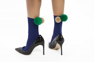 POMPOM SOCKS<br>NAVY<img class='new_mark_img2' src='//img.shop-pro.jp/img/new/icons20.gif' style='border:none;display:inline;margin:0px;padding:0px;width:auto;' />