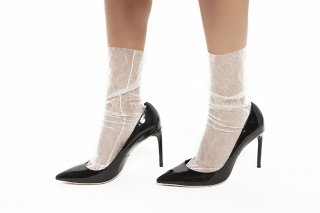 1812006/WHITE<br>LACE SOCKS