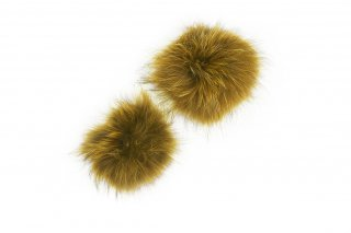 RACCOON FUR PARTS<br>YELLOW