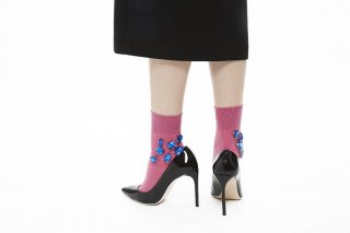 BIJOUX SOCKS<br>PINKxBLUE