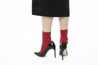 BIJOUX SOCKS<br>RED