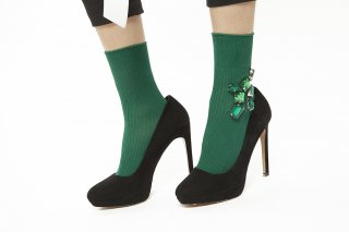 BIG BIJOUX SOCKS<br>GREEN