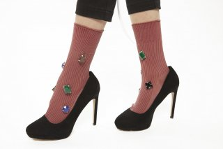 BIJOUX SOCKS<br>PINK<img class='new_mark_img2' src='//img.shop-pro.jp/img/new/icons20.gif' style='border:none;display:inline;margin:0px;padding:0px;width:auto;' />
