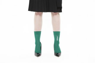 ASIMETRIC MESSAGE SOCKS【OPTIMIST】<br>GREEN