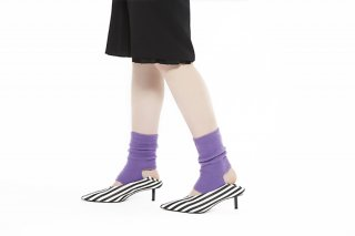 DEFORM MOHAIR SOCKS<br>PURPLE