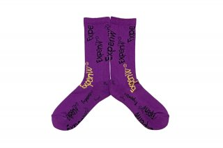 <b><font color='red'>NEW</font></b><br>MENS/ExpenW PATTERN SC<br>PURPLE×MULTI