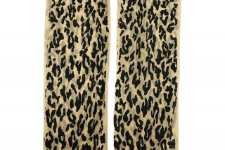 <b><font color='red'>NEW</font></b><br>LEOPARD PRINTED STOCKING<br>BLACKの商品画像