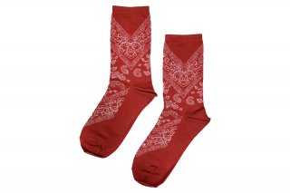<b><font color='red'>NEW</font></b><br>PAISLEY SC<br>REDの商品画像