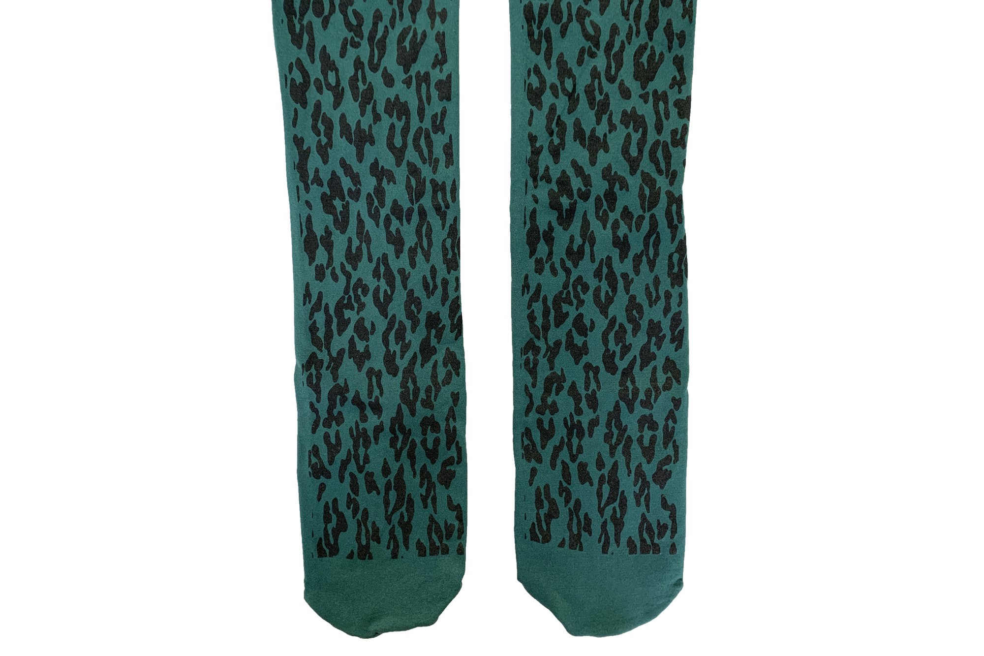 <b><font color='red'>NEW</font></b><br>LEOPARD TIGHTS<br>GREEN