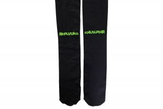<b><font color='red'>NEW</font></b><br>LOGO PRINTED TIGHTS<br>BLACK×NEONGREENの商品画像