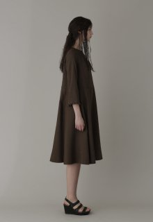 linen wool one piece