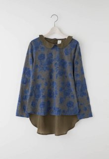 shadow flower pullover