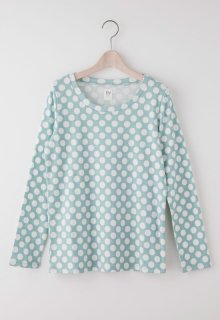 < pre-order >springs dot long t-shirt