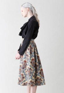 ornament print skirt
