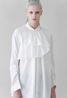 < pre-order >cotton silk loan shirt
